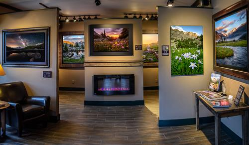 Images of RMNP gallery - Inside view