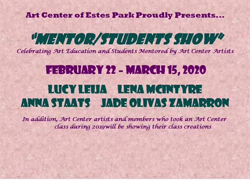 Mentor/Student Show