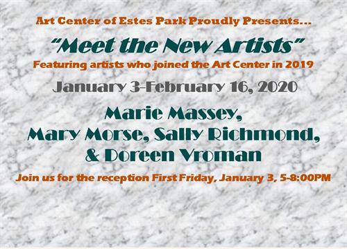 Meet the New Artists