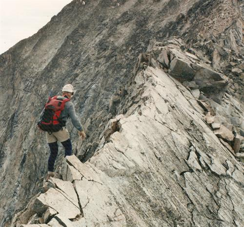Capital Peak - Knife Edge Ridge