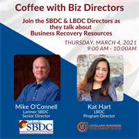 [Webinar] Coffee with Small Biz Directors - Business Recovery Resources