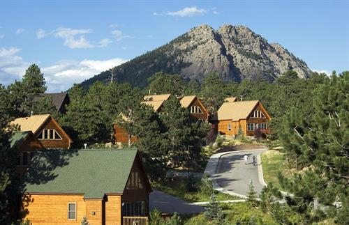 45 Cabins on 9 Acres - Generously distanced for your comfort.