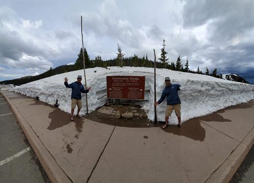 magic to be on both sides of the continental divide at once.