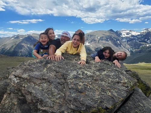 Family achieving new heights on the most fun tour in the world!