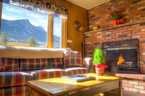 A cozy setting and unmatched views