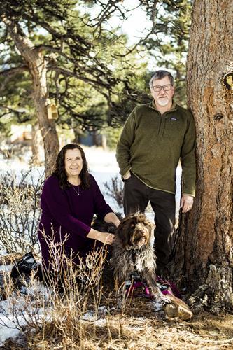 Owners Scott & Denise Bart, residents of Estes Park