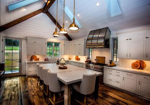 Grand kitchens