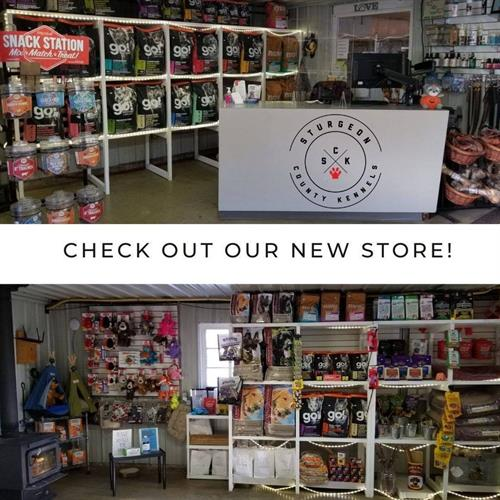 Sturgeon County Kennels Store