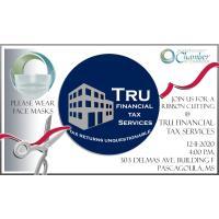 Ribbon Cutting at TRU Financial Tax Services