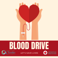 RED CROSS BLOOD DRIVE hosted by the Jackson County Chamber of Commerce