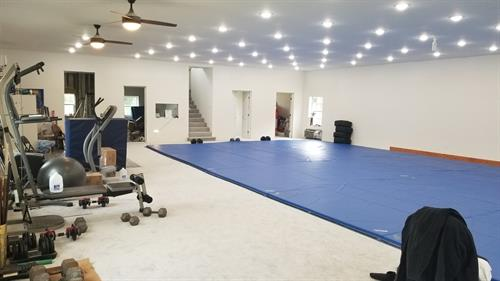 Our lovely mat space