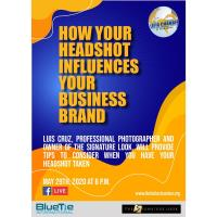 FB Live talk with Luis Cruz / How your headshot influences your business brand