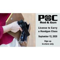 License to Carry Course
