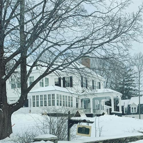 Brewster Inn in Winter