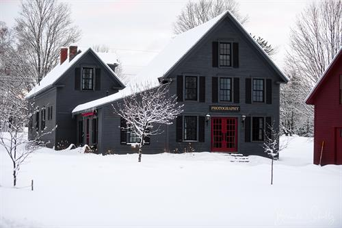 The Barn in the Winter