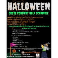 Halloween Cross Country Golf Scramble