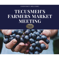 2021 Tecumseh's Farmers Market Season Meeting