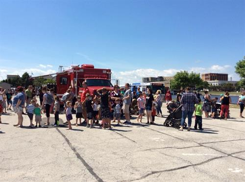 Touch the Trucks was a hit!