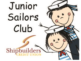 Children age 12 years or younger are eligible to open a Junior Sailors account. They receive a savings card that is punched for every $10 deposited into their savings account and they receive a prize every time they deposit at least $10 (1 prize per visit).