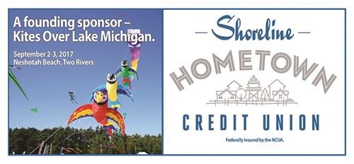 Proud founding sponsor of Kites Over Lake Michigan.