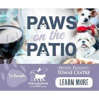 Paws on The Patio at Burton's Grill to benefit Charleston Animal Society