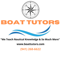"Boating Education Class Nautical Knowledge ""101"" December 7-10 From 10-2 Each Day"
