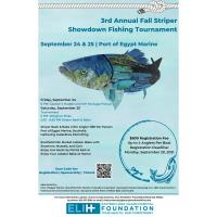 ELIH 3rd Annual Fall Striper Showdown Fishing Tournament