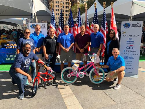 Bike Build @ The 9-11 Memorial in NYC