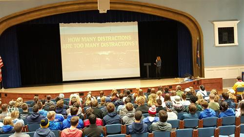 Distracted Driving Presentation-Greenport, Southold and Mattituck HS