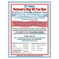 2nd Annual Veteran's Day Color Fun Run