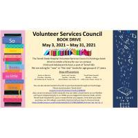 TSH Volunteer Services Council Book Drive