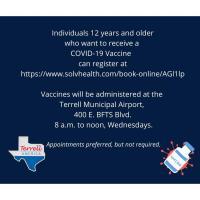 COVID-19 Vaccine Site in Terrell