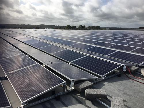 Solar PV Installation Lidl Distribution Centre,