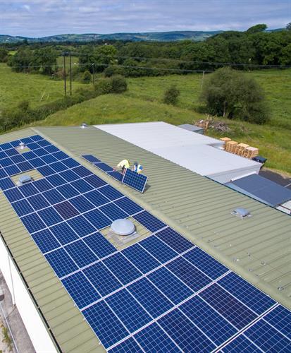 Solar Pv Installation, Cahills Cheese