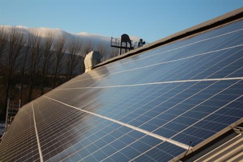 Solar PV Installation Flahavans, Co. Waterford