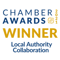 Waterford Chamber wins Local Authority Collaboration Award at Chamber Awards 2021