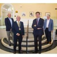 Minister Eamon Ryan discusses Waterford's Decarbonisation Zone designation