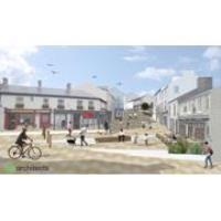 Tramore Public Realm works nearing completion