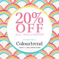 20% off Wallpaper at Colourtrend