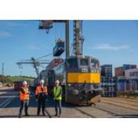 Iarnród Éireann and XPO begin new rail freight service between Port of Waterford and Ballina