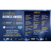 Shortlist announced for Waterford Business Awards