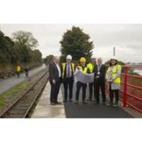Works begin on Waterford Greenway Extension