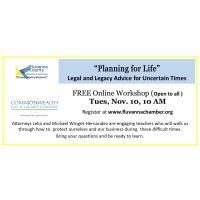 Planning for Life Workshop
