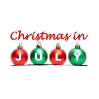 Christmas in July on the Brick Street
