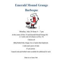 Emerald Mound Grange BBQ