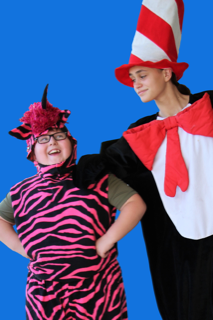 Cast from Seussical Jr.
