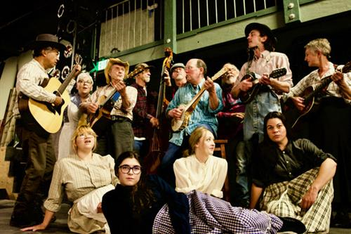 Cast of Woody Guthrie's American Song