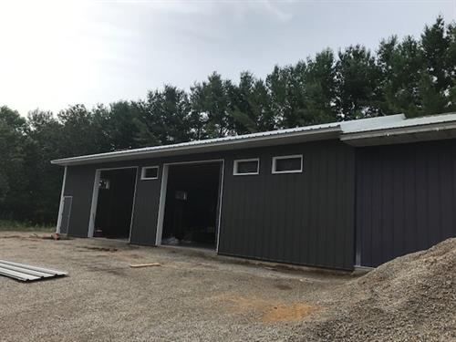 Eric's Auto Building Addition - Marinette, WI 2020