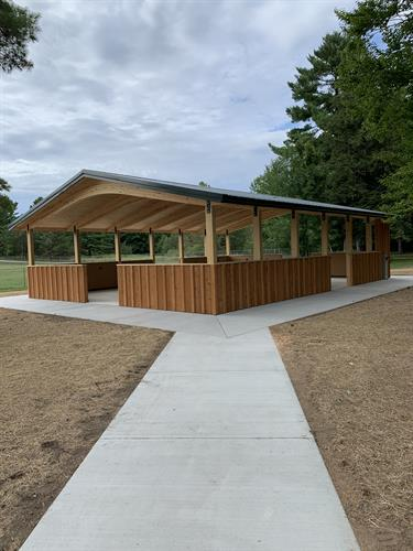 Menominee Township Ballpark Pavilion Build - Menominee, MI 2020
