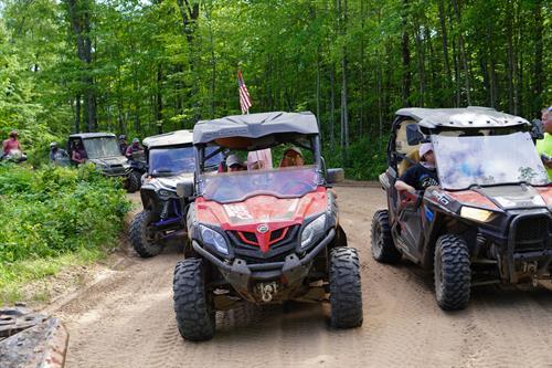 Over 600 miles of ATV/UTV trails